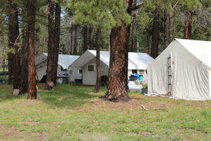 AOA Canvas Tent in the White Mountains