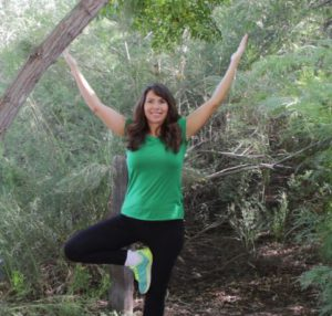 Tree Pose is great for Hiking
