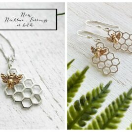 Honeycomb Bee Set